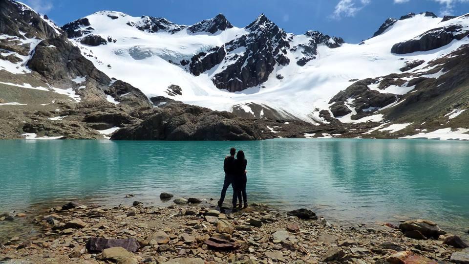 Laguna de Los Témpanos e Glaciar Vinciguerra