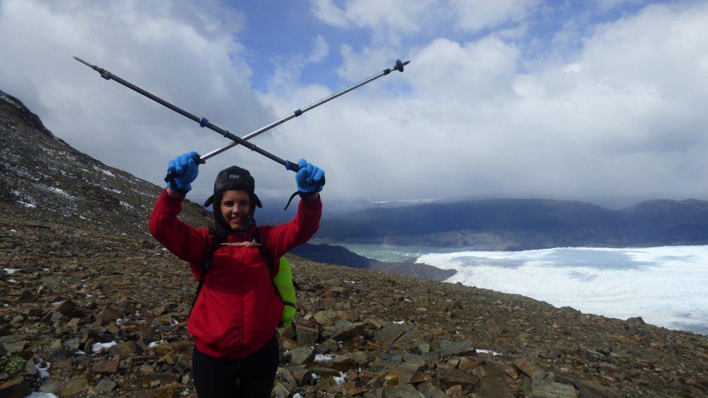 O que levar para Torres del Paine: Bastões de caminhada