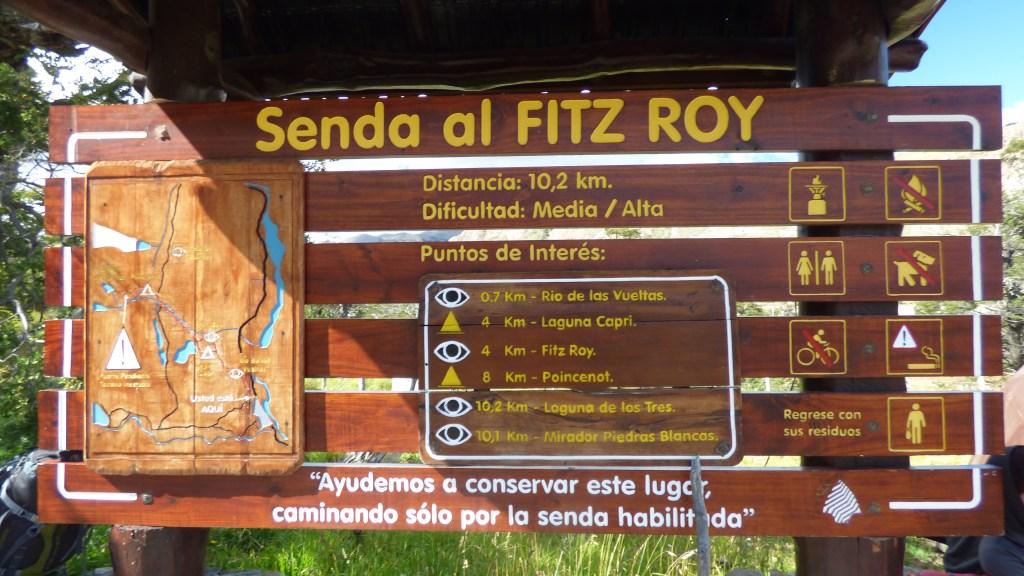 Trilha ao Fitz Roy - El Chalten