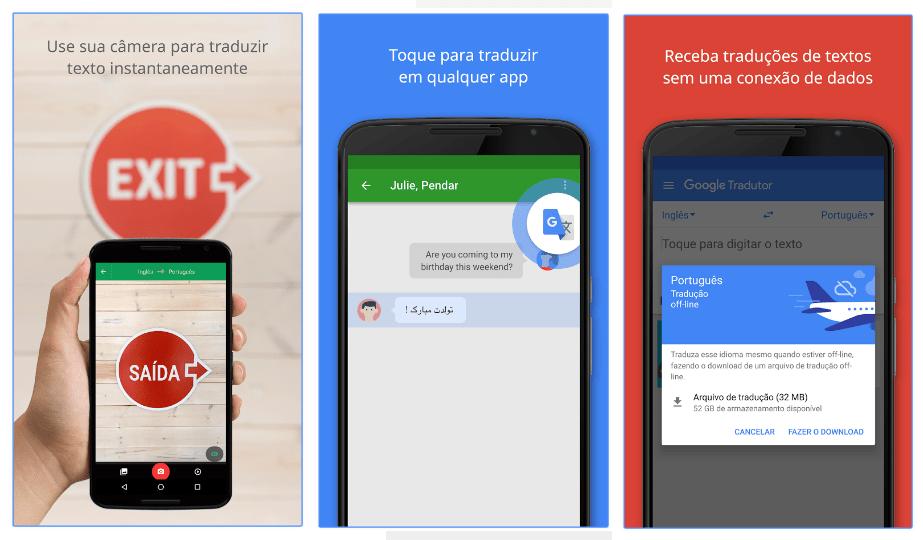 Melhores aplicativos de viagem Google Tradutor
