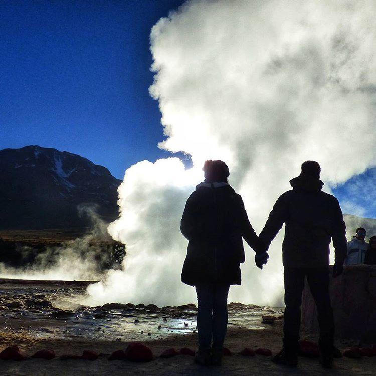 viajar para o chile - terceiro maior campo geotermico do mundo deserto de atacama