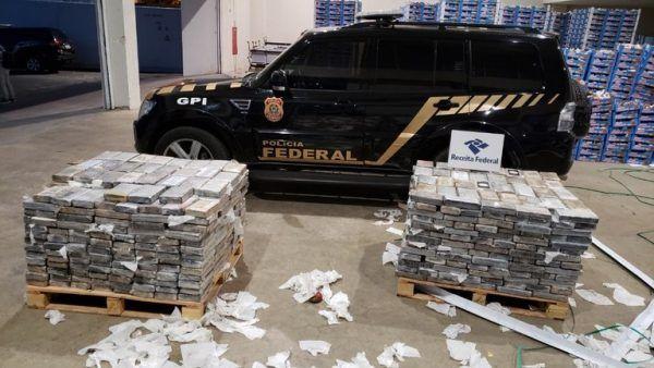 Porto de Natal: Cocaína é apreendida antes de seguir para a Holanda