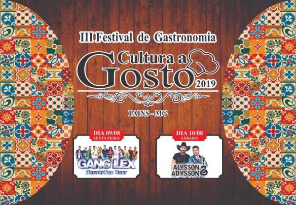 Turismo gastronômico: Cultura a Gosto, em Pains-MG