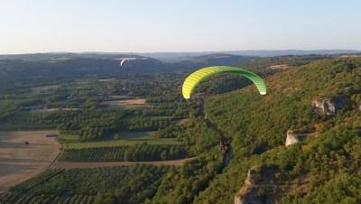 Parapente Lot Corrèze Dordogne Floirac 6