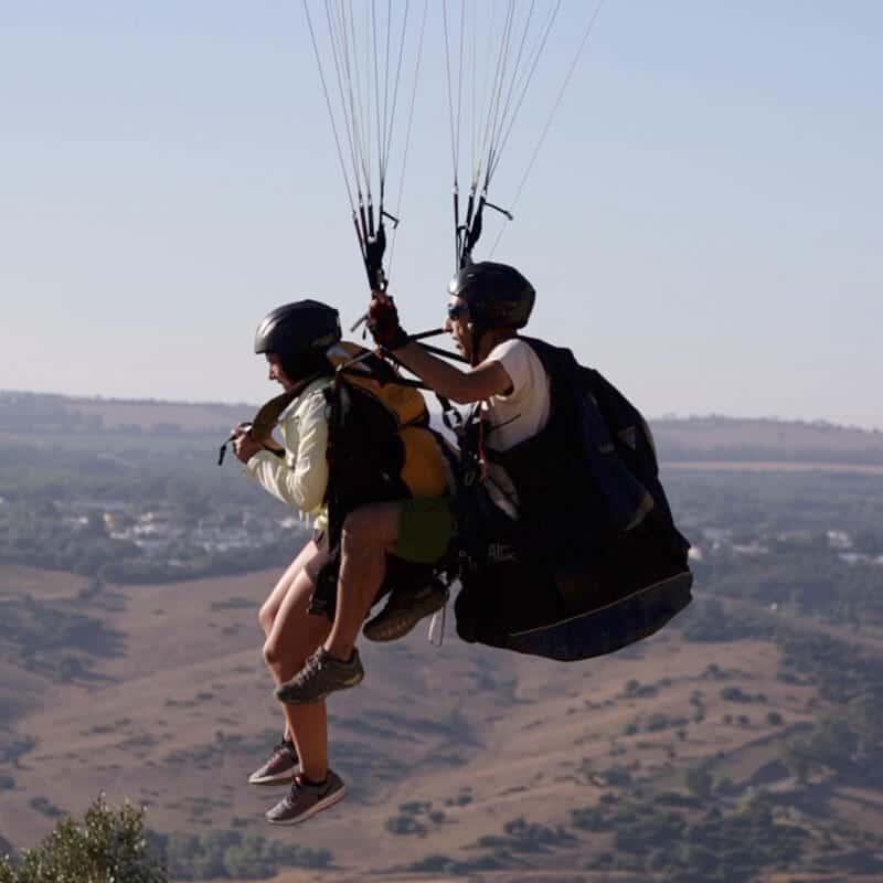 Happy Moments en Vejer - Vuelo en Parapente parapente vejer El Verano se va Volando en Cadiz HappyMoment5
