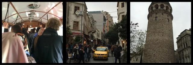 Taksim - Tunel Tram, Serdar-I Ekrem Street, Galate Tower Istanbul