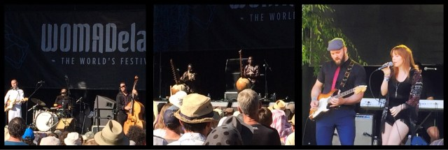 CW Stoneking, Toumani & Sidiki Diabate, Julia Henning - WOMADelaide 2015