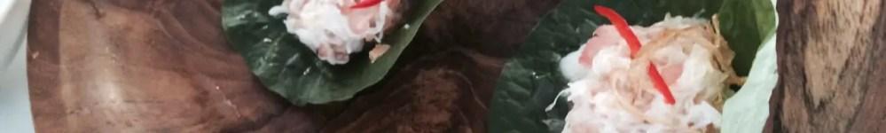 Madame Hanoi's Spanner Crab Betel Leaves