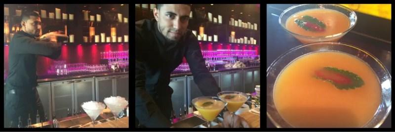 Shobil's Chili Mango Martinis