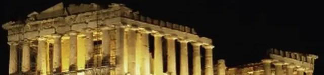 Acropolis Evening Shot