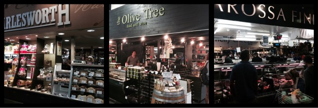 Charlesworth Nuts, Green Olive & Barossa Fine Foods: Central Market Adelaide