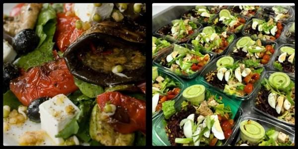 Salads! Appetite Bay Avenue Dubai