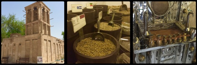 Coffee Museum. Al Fahidi Historical Neighbourhood. Dubai. UAE