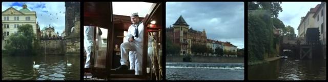 Vltava River Boat Cruise. Prague. Czech Republic.