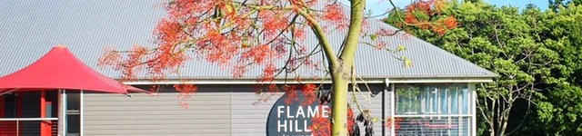 Flame Hill. Montville. Sunshine Coast. Queensland. Australia.