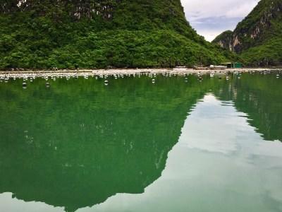 Indochina Junk. Bai Tu Long Bay. Vietnam.