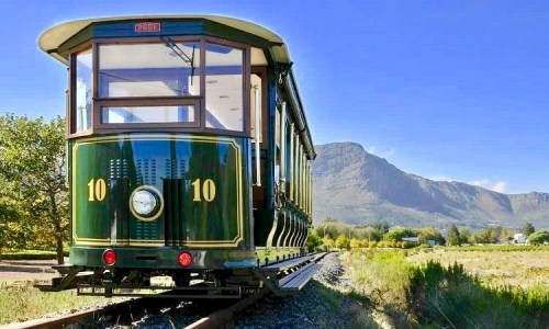 Franschhoek Wine Tram. South Africa.