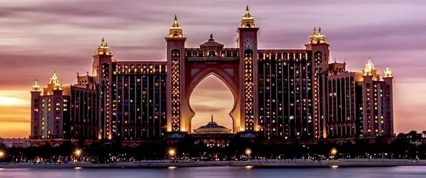 Dubai Guide Part #5. Palm Jumeirah. Dubai Marina. Dubai. UAE.