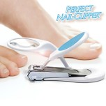 CORTAUÑAS LED CON LUPA PERFECT NAIL CLIPPER
