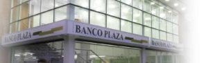 Código del Banco Plaza (0138)