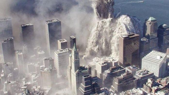 gedung yang terkena bom