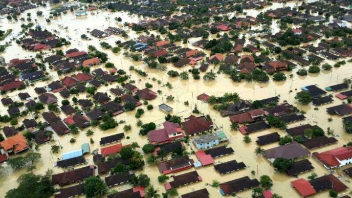 gamabar bencana alam banjir