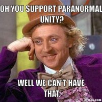 Paranormal Unity or Paranormal War?