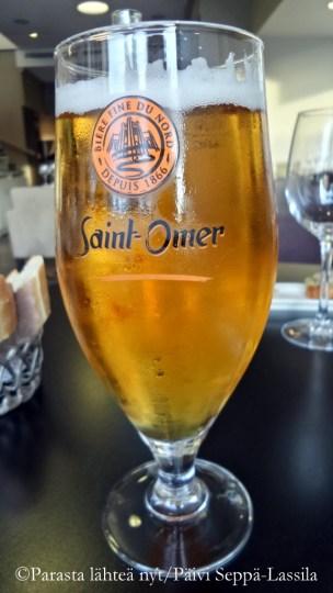 Pohjoisranskalaista Saint-Omer-olutta.
