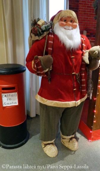 Joulupukki on löytänyt tiensä brittiläiselle klubille.