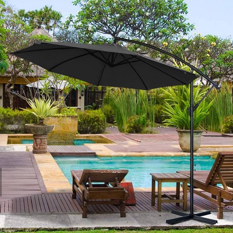 sombrillas de terraza y jardin baratas