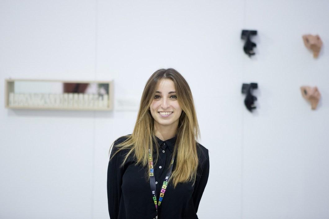 La curatrice Valeria Serafini