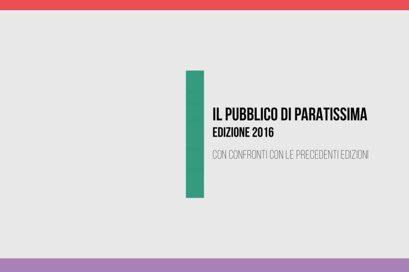 Indagine sul pubblico 2016