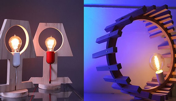 different lamps