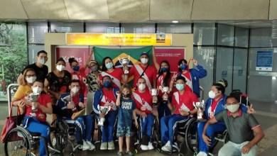 Photo of Equipe de dança esportiva em cadeira de rodas vai para Copa do Mundo na Coreia do Sul
