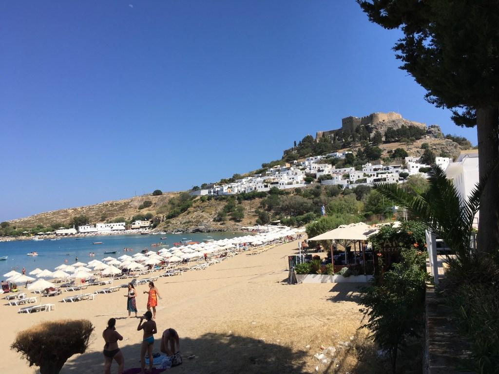 Lindos Plajı