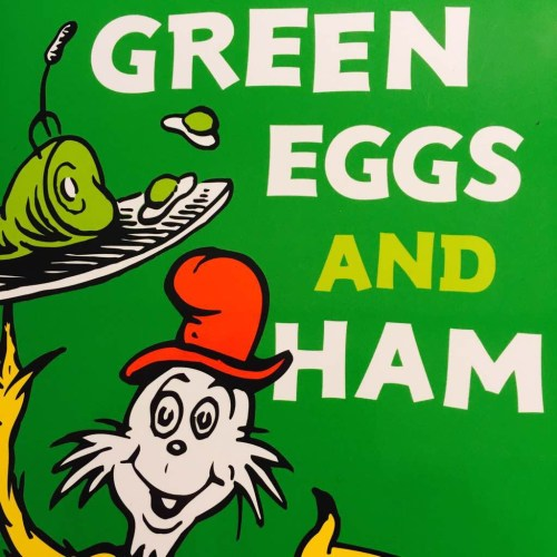 Green Eggs and Ham Part 1: a book in 50 words
