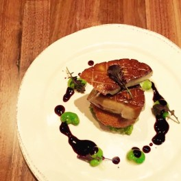 Thomas Harris Part 2: foie and fava beans with Amarone