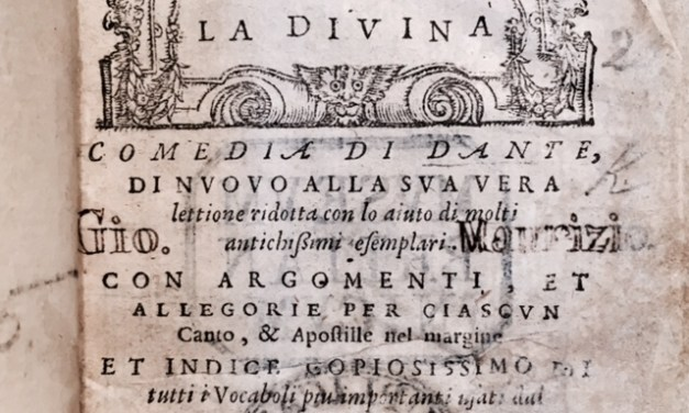 Dante Alighieri Part 1: The Divine Comedy