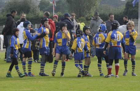 Equipe des moins de 10 ans de Montjean-sur-Loire La Pommeraye