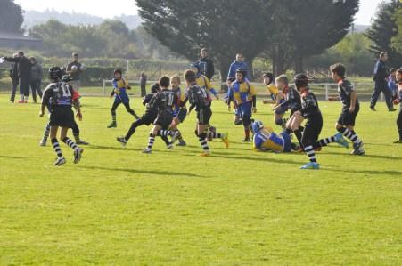 Match école de rugby