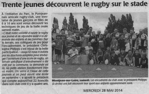 Article rugby - Initiation au rugby