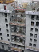 Arrière de Parc 17, Terrasses en les bâtiments B&C, 14 décembre 14