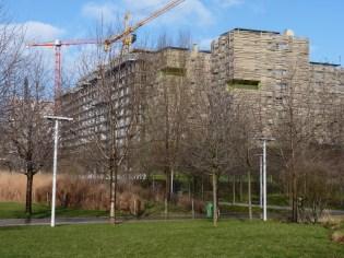 Parc 17 et résidence étudiante, 24 janvier 2015