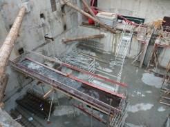 Une passerelle ou une poutre pour le 1er niveau de sous-sol ?