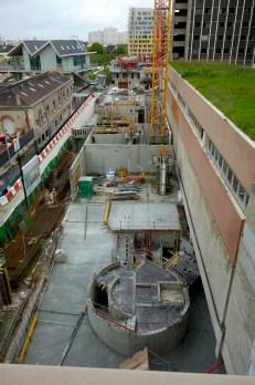 Chantier Parc 17 vue de haut