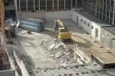 Evacuation des déchets issus de la destruction