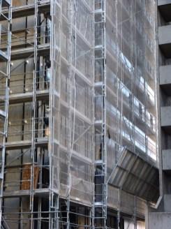 Bardage façade Nord, bâtiment A, Parc 17