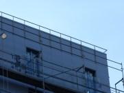 Garde-corps de toiture, façade Nord
