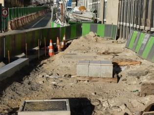 Réfection des trottoirs de la rue Bernard Buffet