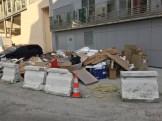 Décharge sauvage rue Bernard Buffet
